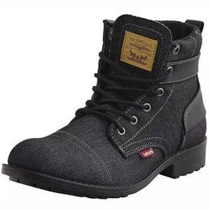Levi's Mens Denim Boots